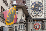 Fragment of the Zytglogge clock tower, Bern - 217283909