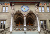 Bern Rathaus. Entrance to the town hall