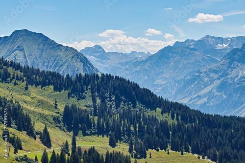 Aluminium Blauw Alps Austria