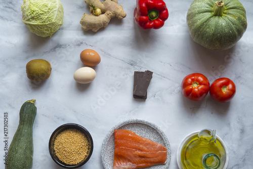 Foto Murales Diet healthy