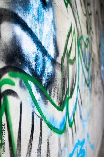 In de dag Graffiti Graffiti Art 01