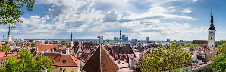 Panorama of Tallinn