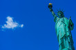 Statue of Liberty in Blue Sky