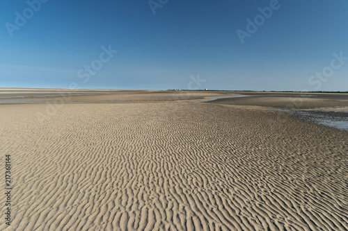 Aluminium Noordzee Am Strand von St. Peter-Ording