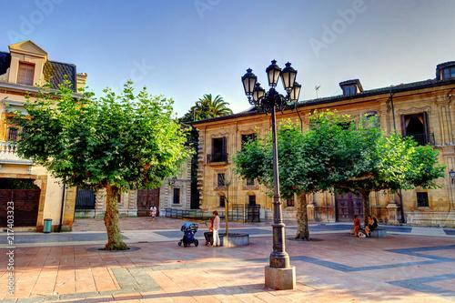 Oviedo, Capital of Asturias, Spain