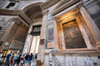 Quadro Inside the Pantheon, Rome, Italy. 10 of July 2017.