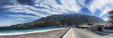 Panoramic view from the Corinthian canal