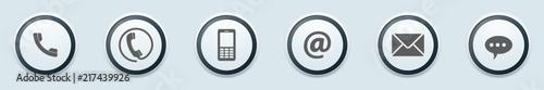 Ilustracja przycisków kontaktowych
