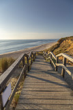 Stairs at Sylt-Kampen to access the Beach / Germany - 217441166