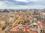 city scape view of valencia Spain