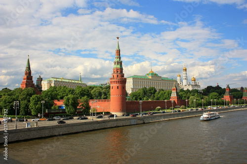 Canvas Moskou Towers of the Moscow Kremlin