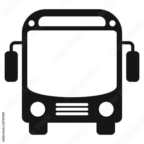 Fototapeta Bus icon vector