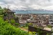 Switzerland, Thun city rooftops - 217479114