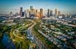 Houston, Texas Skyline At Sunset  - 217495105