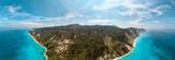 View Above Of Seashore