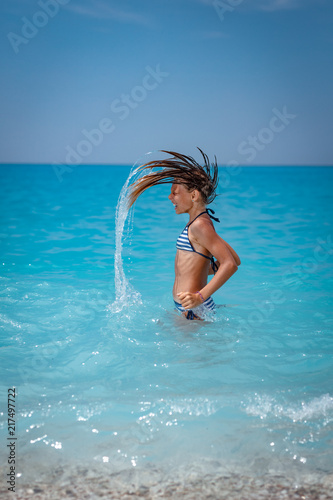 Happiness In The Waves