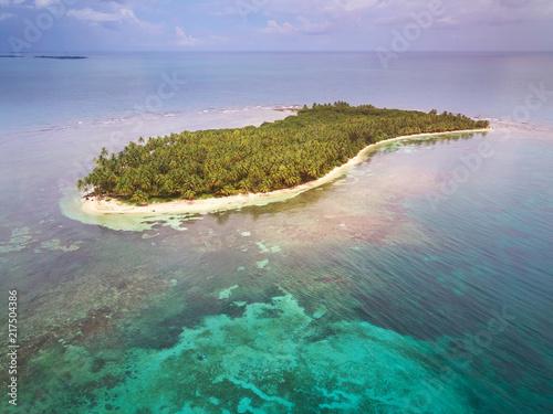 One caribbean island