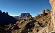 Quadro Dolomiten Landschaft
