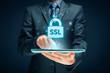 Leinwanddruck Bild - SSL concept