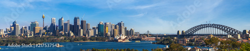 Wall mural Panorama of Sydney city