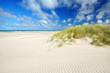 Leinwanddruck Bild - Freiheit am weiten Strand