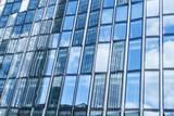 Moderne Glas Architektur in Frankfurt am Main