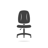 Office chair icon vector - 217538739