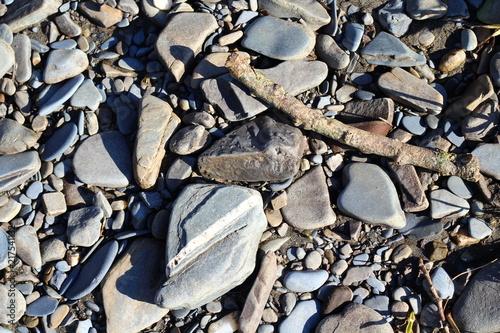 Plexiglas Zen Stenen Pebble Background