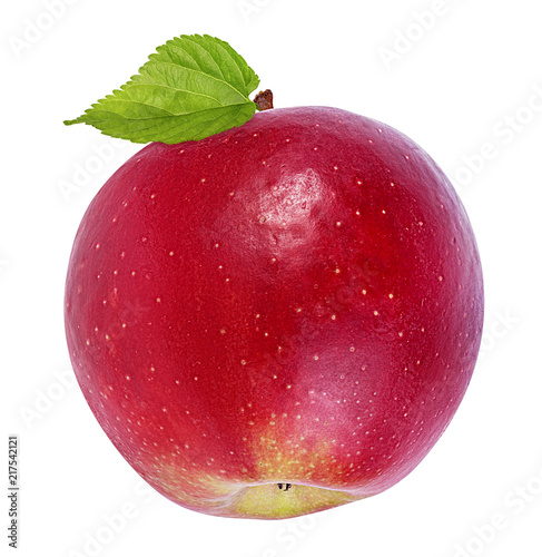 Foto Murales Apple on a white background
