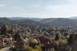 Stadtbild von Wernigerode im Harz Gebirge - 217546338