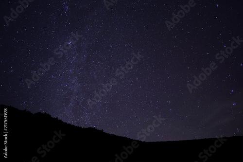 Aluminium Heelal Nachthimmel Galaxie