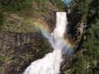 Rainbow over waterfall - 217567191