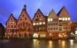 Townhouse on Romerberg plaza (Roemer Square) in Frankfurt am Main. Germany