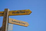 Durdle Door, Dorset in UK, Jurassic Coast World Heritage Site - 217572923