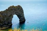 Durdle Door, Dorset in UK, Jurassic Coast World Heritage Site - 217573360