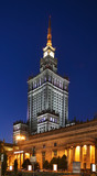 Palace of Culture and Science in Warsaw. Poland - 217574772