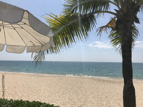 Plexiglas Tropical strand summer