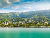 Tahiti, Papeete landscape. - 217584940