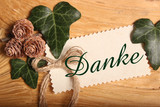 Grusskarte - Danke - 217589162