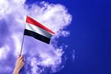 Yemen flag - Waving flags