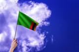 Zambia flag - Waving flags