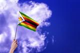 Zimbabwe flag - Waving flags