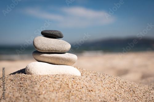 Plexiglas Zen Stenen Steinstapel