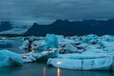 Jokulsarlon ice lagoon in south Iceland - 217607715