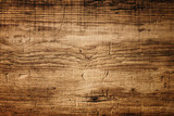 Fototapeta Las - Dark Brown Wood Texture with Scratches © Floydine