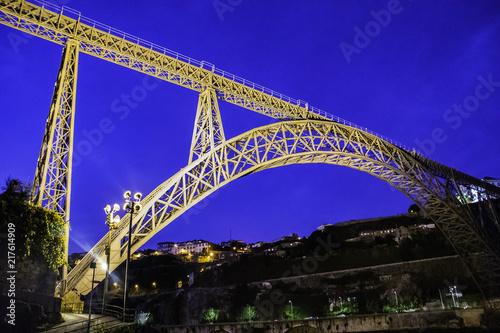 Wall mural Dom Luis Bridge - Porto - Portugal
