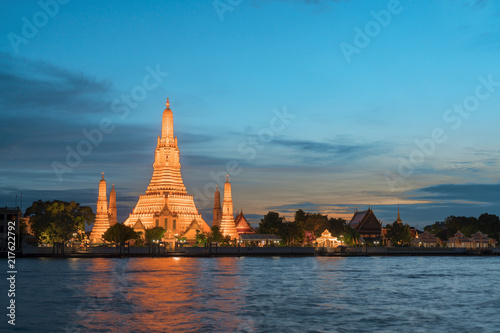 Plexiglas Thailand Wat Arun, Bangkok, Thailand