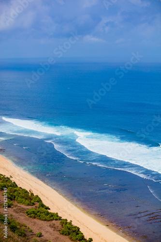Fotobehang Bali Nyang Nyang and Nunggalan beach, Bali, Indonesia.