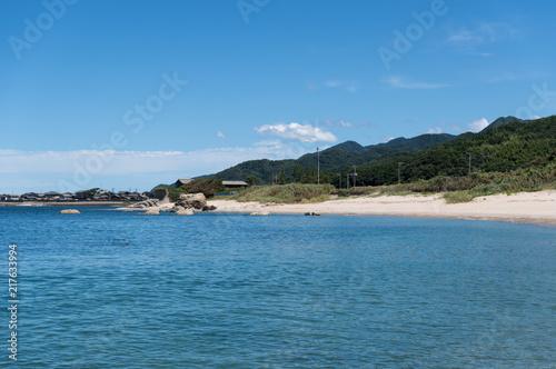 Aluminium Blauwe jeans 青い空と澄み渡る海