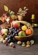 Quadro autumn still-life fruit organic harvest